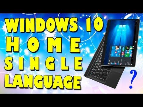 Установка Windows 10 ДОМАШНЯЯ ДЛЯ ОДНОГО ЯЗЫКА на УЛЬТРАБУК