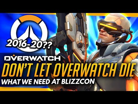Overwatch   What Blizzcon NEEDS - Long Term Survival Discussion