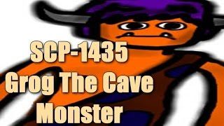SCP-1435 Grog The Cave Monster | Object Class Euclid | Infohazard scp / Self-replicating scp