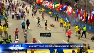 Man Shot Dead During Boston Bombing Questioning