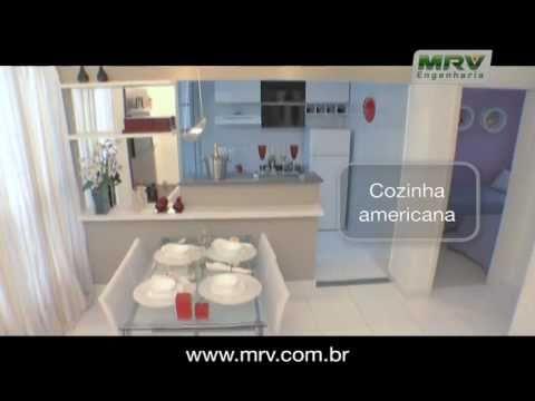 mrv-engenharia-apresenta-apartamento-decorado-2-quartos- -mrv-em-bh