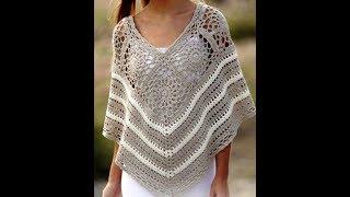 Tığişi Örgü Pelerin Modelleri & Crochet