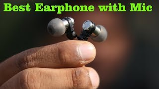 Best Earphone with Mic | Unboxing & Review: Brainwavz Omega Earphone