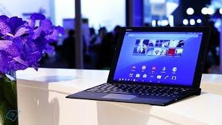 ▶ Sony Xperia Z4 Tablet mit Tastatur-Dock - Erster Eindruck!