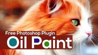 Gambar cover Free  Adobe Photoshop Oil Painting Plugin