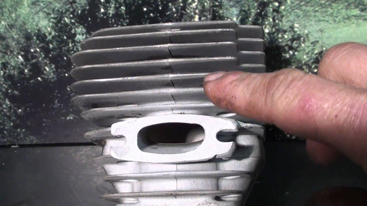 #2 The chainsaw guy Shop talk repair Husqvarna 394 XP cylinder