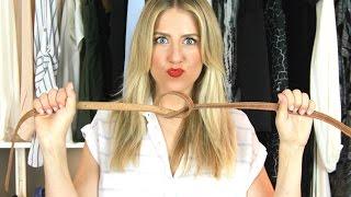 How To Wear A Belt 5 Ways!