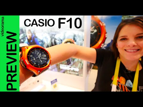 Casio F10 Smart Outdoor Watch preview en español #CES2016
