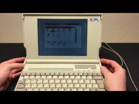 RM NB300 Notebook from Research Machines, a laptop from 1990