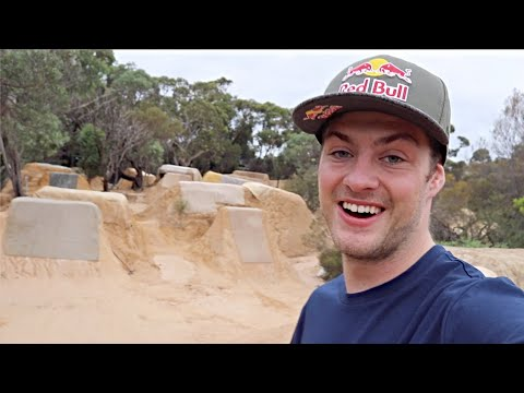 RIDING UNREAL MTB DIRT JUMPS IN AUSTRALIA!!