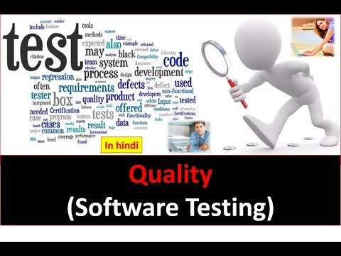 QUALITY (Software Testing) in hindi
