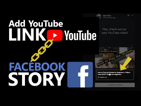 How to Link Youtube videos to your Facebook story (English) - November 2018