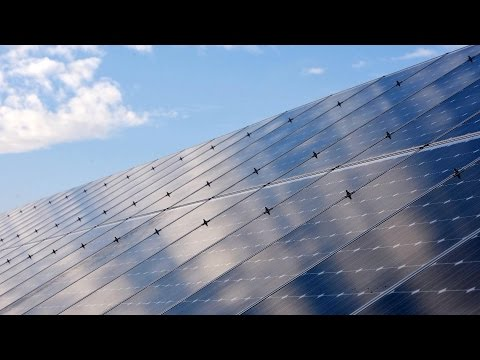 Invisible Solar Cells That Could Power Skyscrapers
