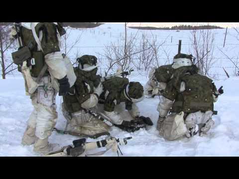 第26戦闘団冬季訓練