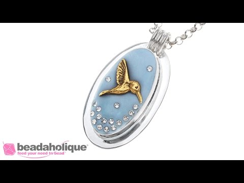 How to Make an Embedded Object Pendant with EnviroTex Jewelry Clay