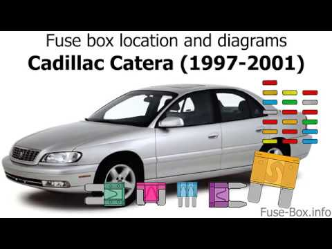 [SCHEMATICS_48YU]  Fuse box location and diagrams: Cadillac Catera (1997-2001) - YouTube | Cadillac Catera Fuse Box Location |  | YouTube
