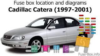 [DIAGRAM_34OR]  Fuse box location and diagrams: Cadillac Catera (1997-2001) - YouTube   Cadillac Catera 1998 Fuse Box      YouTube
