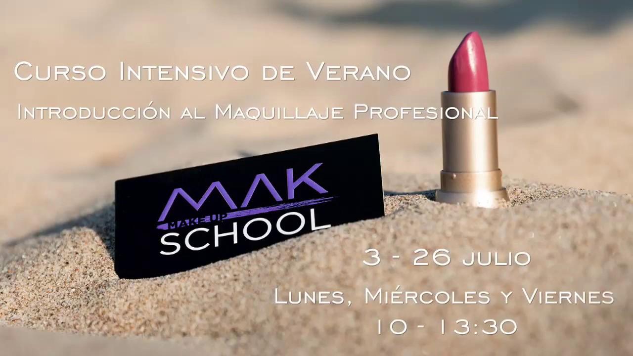 8677dc961 CURSO INTRODUCCIÓN AL MAQUILLAJE PROFESIONAL - INTENSIVO DE VERANO ...