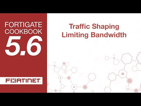 Cookbook - Traffic Shaping Limiting Bandwidth (5.6)