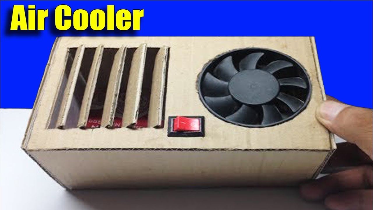 how to make your own air conditioner for 20