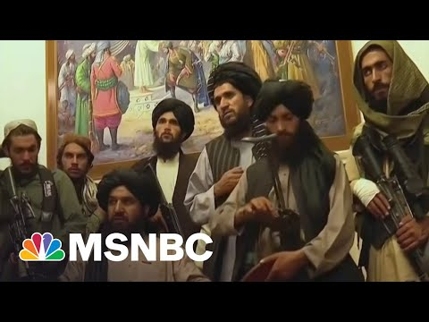 Video Shows Taliban Inside Afghanistan Presidential Palace