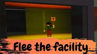 We got so scared!! / Roblox Flee the Facility