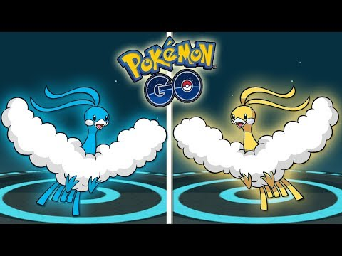 ¡EVOLUCIÓN SWABLU SHINY a ALTARIA SHINY y SWABLU iv 100 a ALTARIA iv 100 en Pokémon GO! [Keibron]