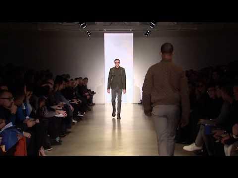 Calvin Klein collection men's fall 2014 runway show