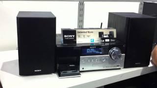 Sony Digital Radio Micro Hi-Fi System CMTMX750