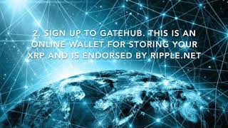 How To Purchase Ripple XRP Cryptocurrency in 4 Easy Steps.  Coinbase & Gatehub