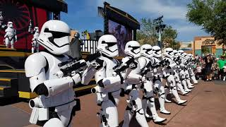 Marching WITH the First Order and Capitan Phasma! | Disney Hollywood Studios STAR WARS Private Tour thumbnail