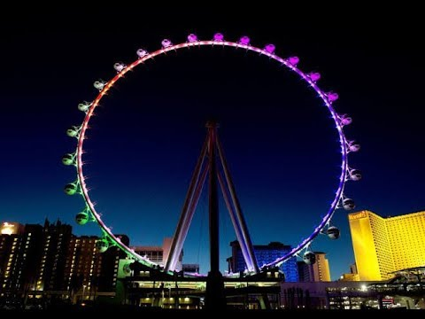 World's Highest Roller, Eiffel Tower, Attractions in Las Vegas 2019, Cheaper Transports Vegas|Part 1