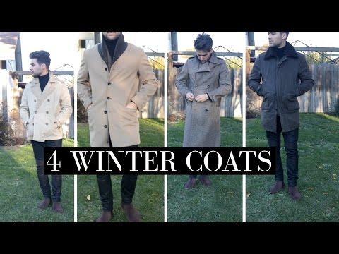 4 Winter Coats   4 Must Have Winter Coats   Mens Winter Fashion