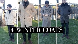 4 Winter Coats | 4 Must Have Winter Coats | Mens Winter Fashion