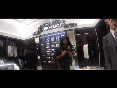 Rich List Junior shopping in harrods London
