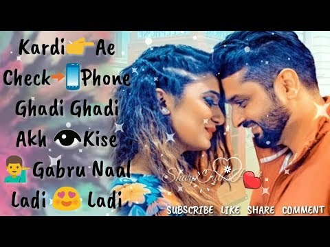 Check Phone📲(LYRICAL)-Roshan Prince | Tiger Style💞 Romantic WhatsApp Status💞