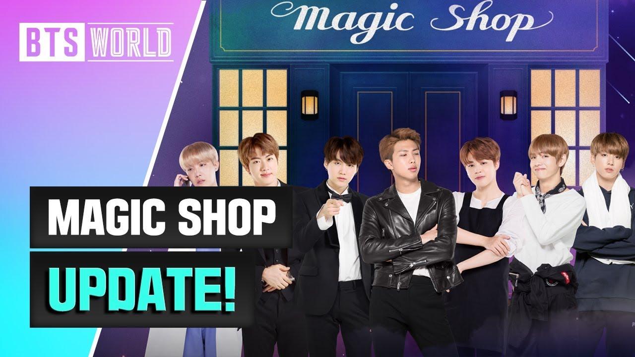 [BTS WORLD] MAGIC SHOP Update!