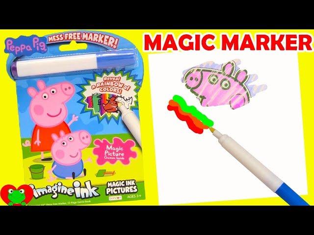 Peppa Pig Imagine Ink Magic Marker Videos For Kids