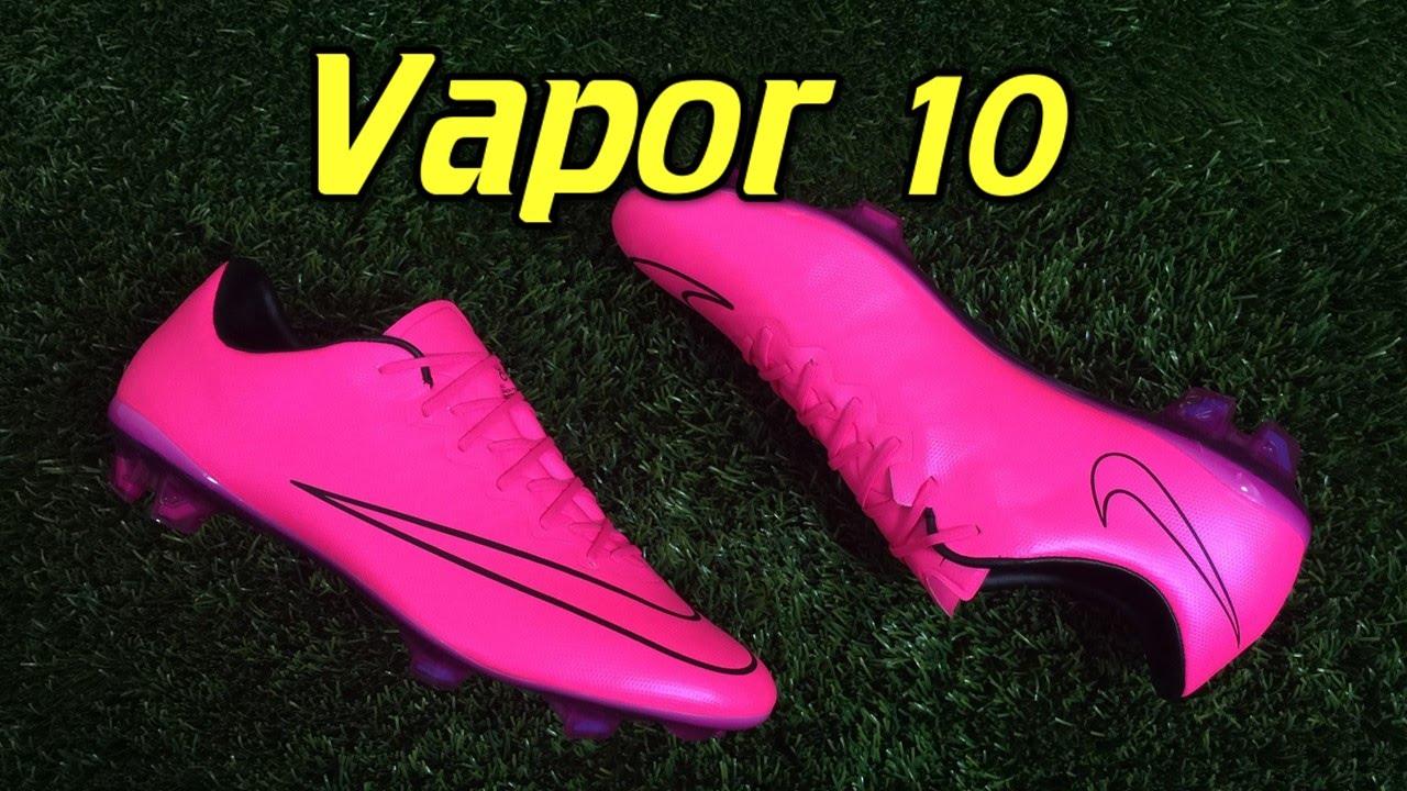 separation shoes c98db 62a20 Nike Mercurial Vapor 10 Lightning Storm Hyper Pink - Review + On Feet