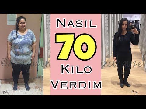 NASIL 70 KİLO VERDİM! | Nasıl Zayıfladım!