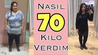 NASIL 70 KİLO VERDİM! | Nasıl Zayıfladım!  | Buşra İpek
