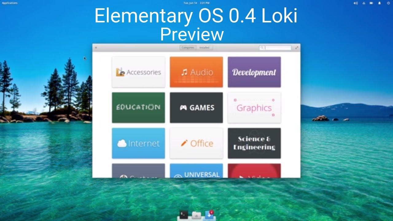 Elementaryos 0 4 Loki Preview Youtube