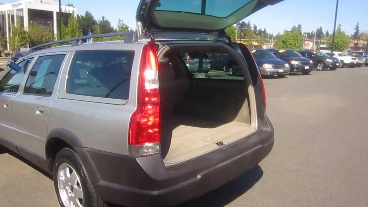 2004 Volvo V70 Silver Stock 6067391 Trunk Youtube