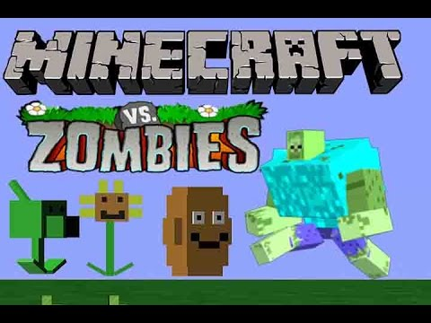 Minecraft vs plants vs zombie youtube - Zombie style minecraft ...