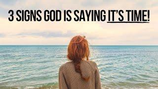 3 Signs God Iṡ Telling You,