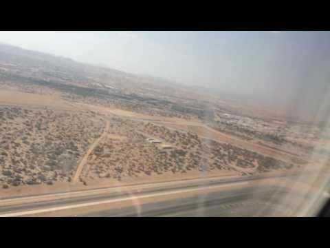 Takeoff from muscat to mumbai