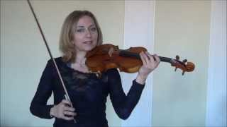 How to Play a One Octave D Major Scale on the Violin