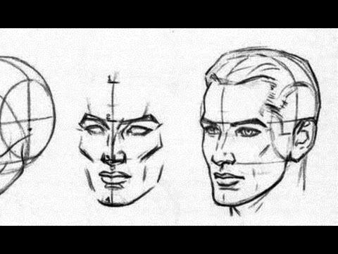 видео: ПРОСТОЙ способ рисования ГОЛОВЫ