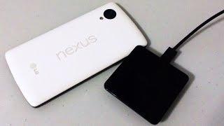 Google wireless charger. Беспроводная зарядка от Google.