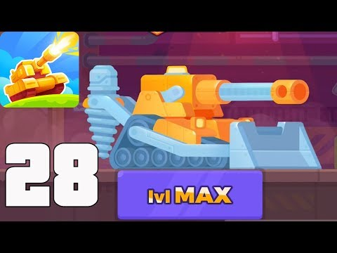 Tank Stars - Gameplay Walkthrough part 28 - New Update, New Tank Mountain (iOS, Android)
